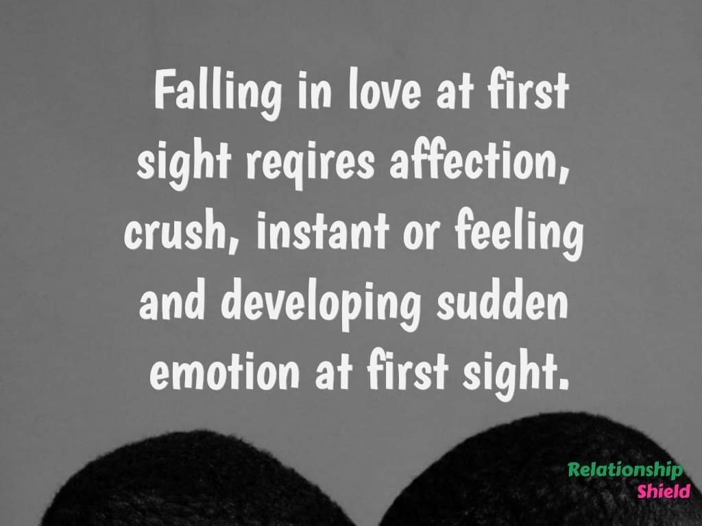 How To Fall In Love At First Sight With Someone You Just Met